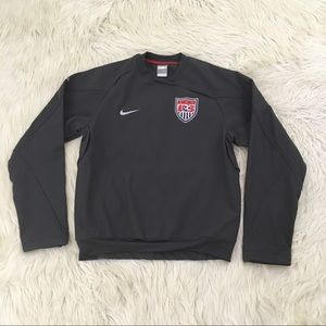 Nike Fit Storm US Soccer Pullover Softshell Jacket